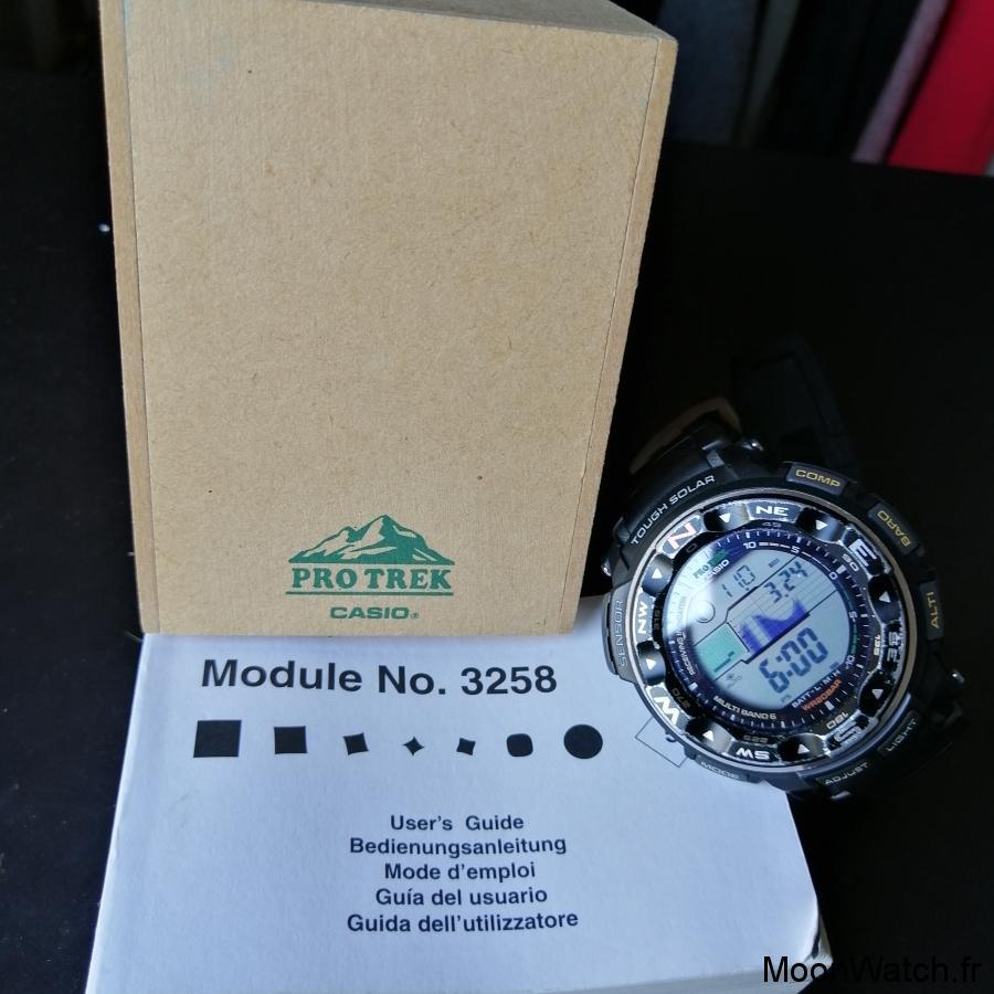 packaging casio prw-2500