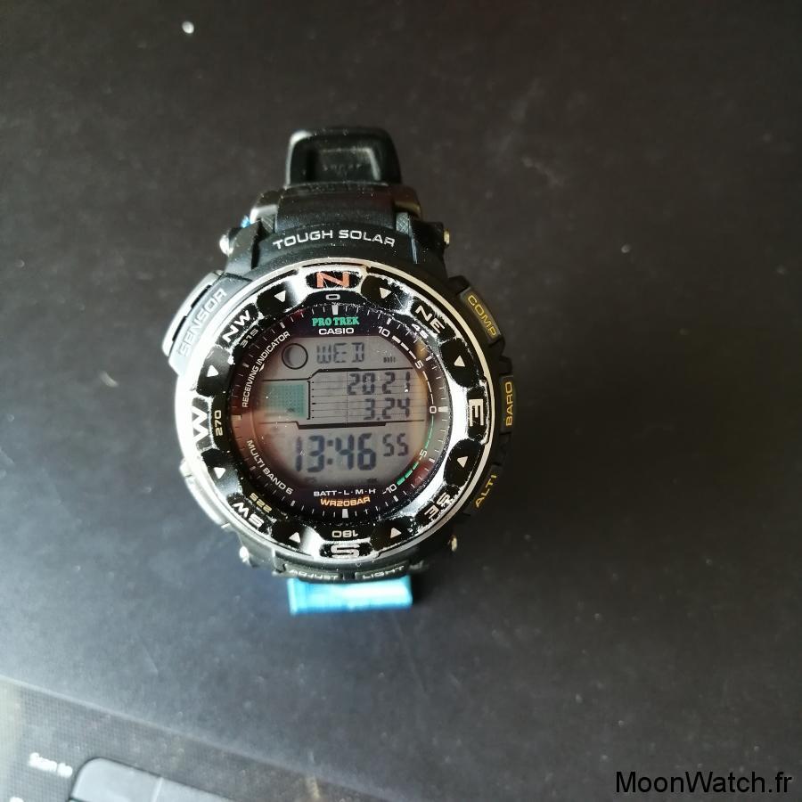 toolwatch casio pro trek prw-2500