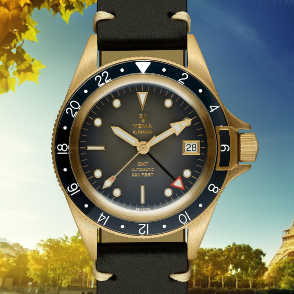 yema superman bronze gmt