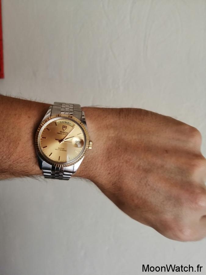 wristshot tudor vintage