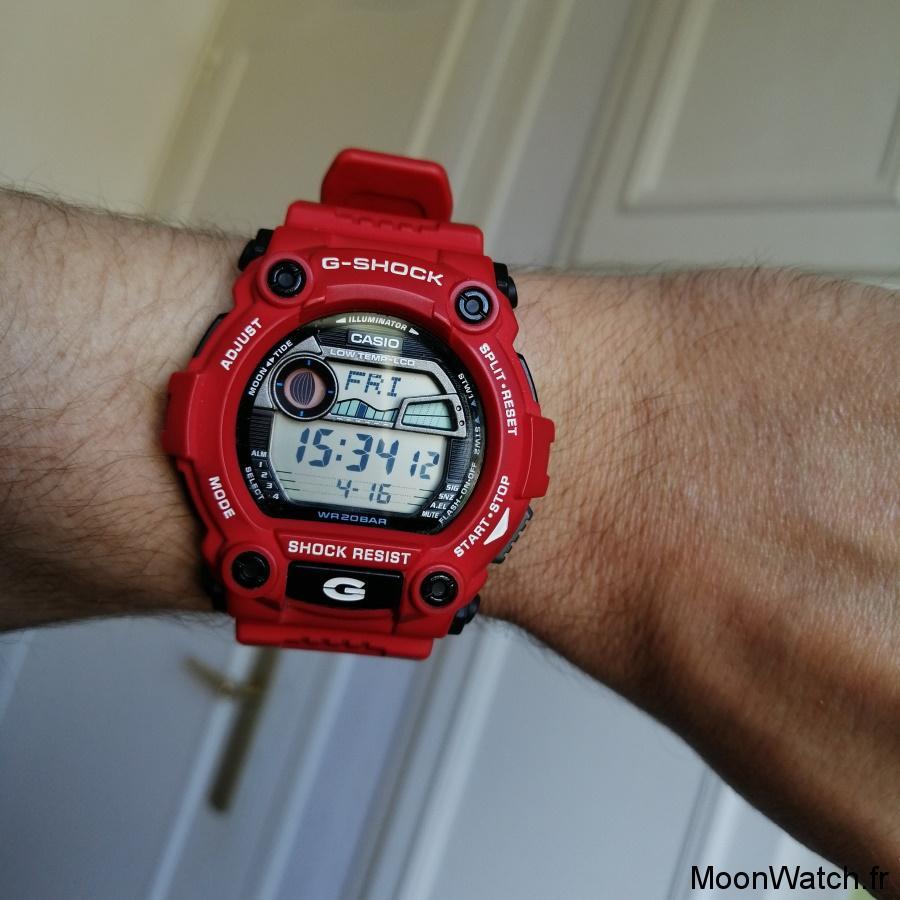 wristshot casio g-7900