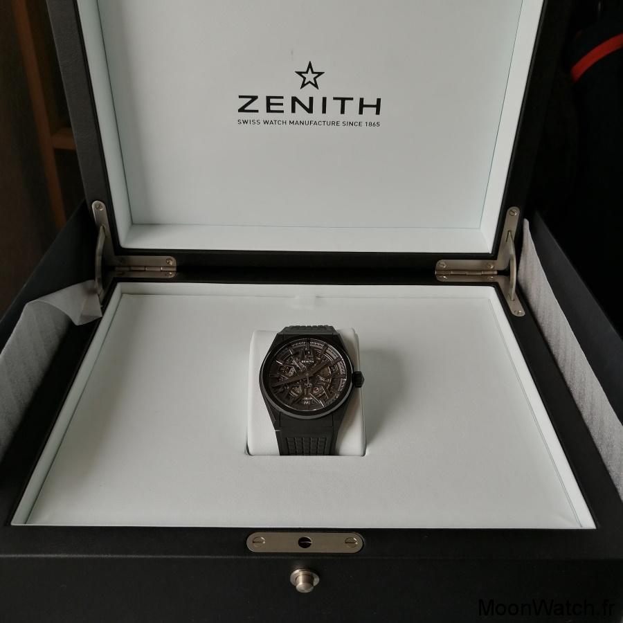 packaging zenith defy classic