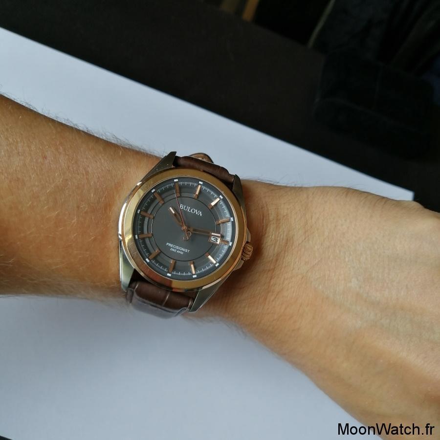 wristshot bulova precisionist