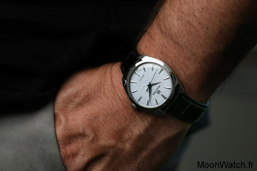 wristshot grand seiko SBGY007