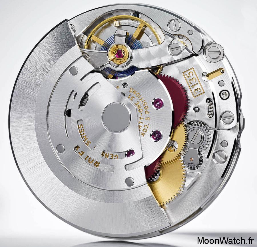 calibre manufacture rolex 3135