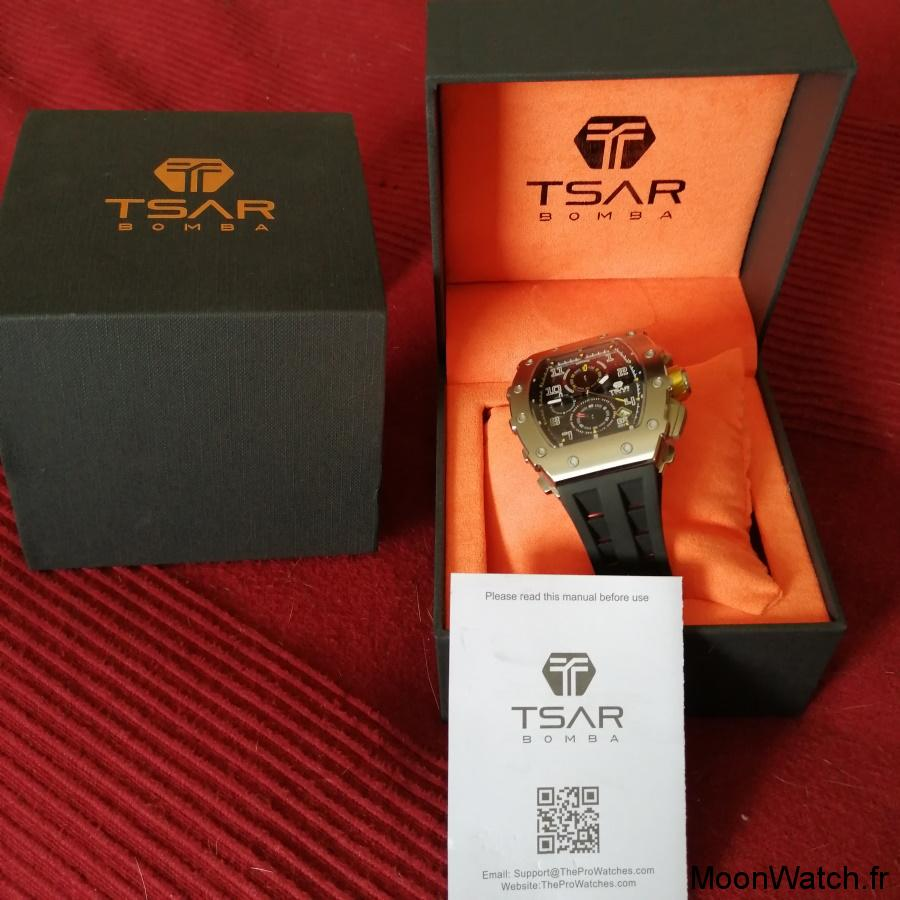 packaging montre tsar bomba