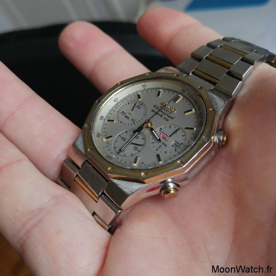 seiko chronographe 7a38-7020