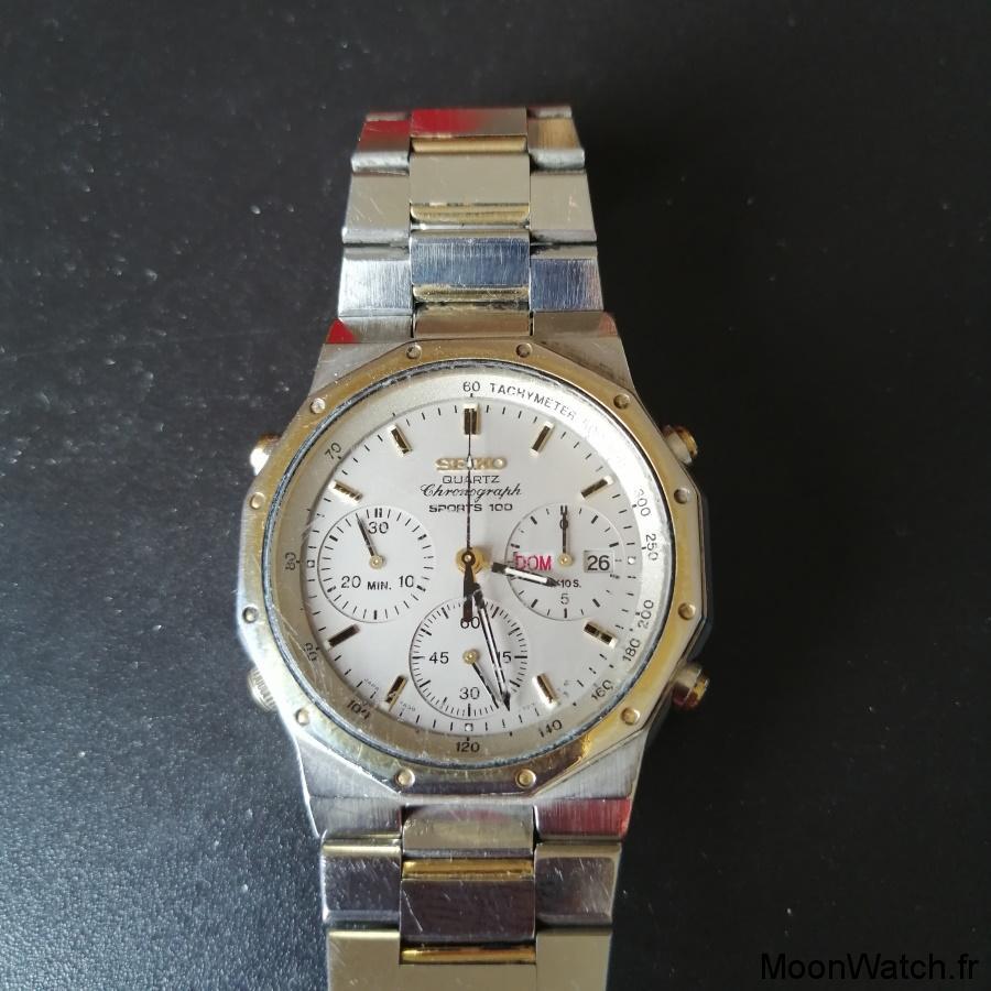 seiko chronographe 7a38