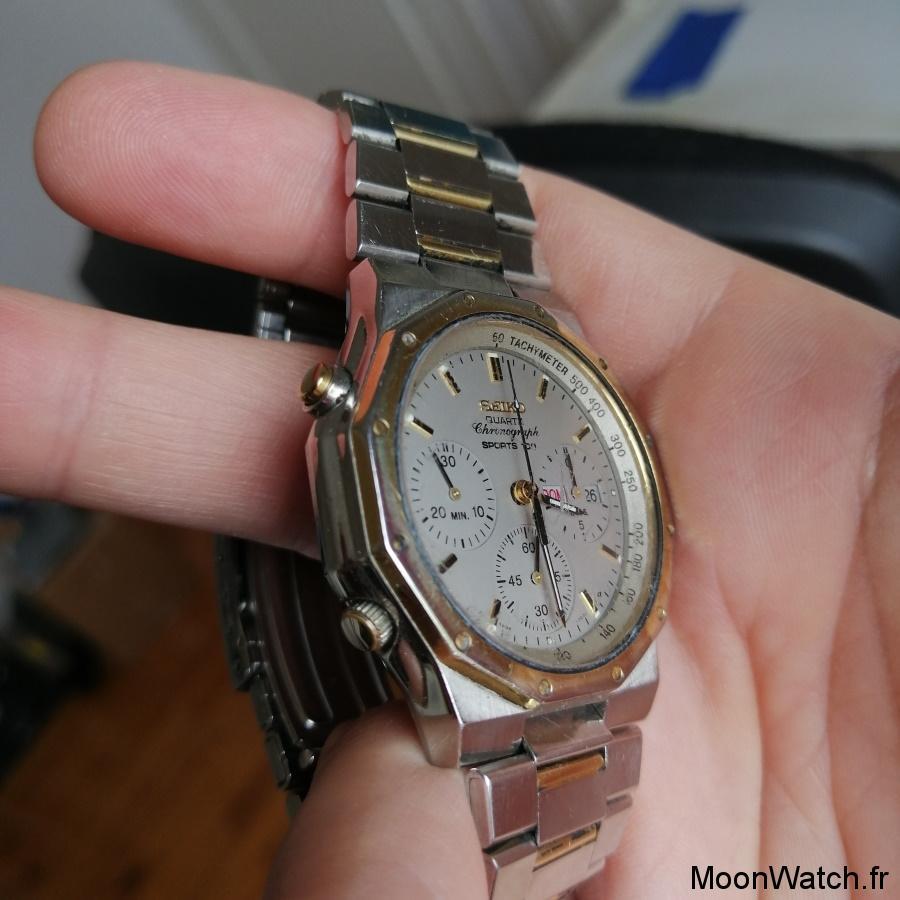 vintage seiko chronographe