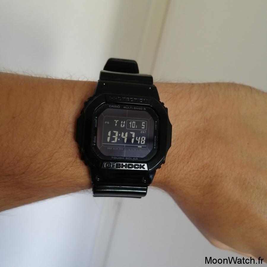 wristshot casio gshock 5610